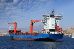Navio de recipiente Fotografia de Stock