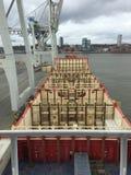 Navio de recipiente Foto de Stock