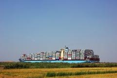 Navio de recipiente de Maersk Foto de Stock