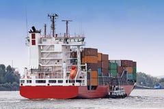 Navio de transporte Fotografia de Stock