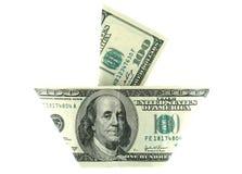 Navio de um dinheiro Imagens de Stock Royalty Free