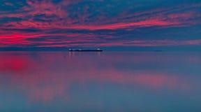 Navio distante Foto de Stock