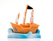 Navio do brinquedo Foto de Stock Royalty Free
