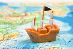 Navio do brinquedo Imagem de Stock