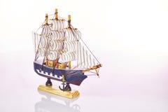 Navio do brinquedo Fotografia de Stock