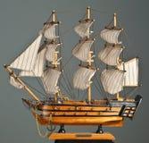 Navio do brinquedo Fotografia de Stock Royalty Free