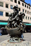 NAVIO do monumento DOS TOLOS em Nuremberg, Alemanha fotos de stock royalty free