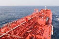 Navio do portador do petróleo cru do petroleiro Foto de Stock