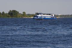 Navio do rio Imagem de Stock