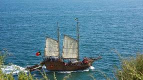 Navio do turista. imagens de stock