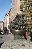 Navio dos tolos em Nuremberg, Alemanha fotos de stock