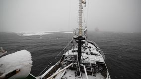 Navio e neve filme