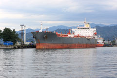 Navio em Batumi Foto de Stock