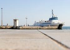 Navio em Croatia - Spli foto de stock