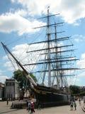 Navio em Greenwhich, Londres Fotografia de Stock