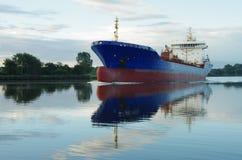 Navio em Kiel Canal Fotografia de Stock
