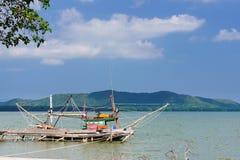 Navio estacionado do pescador Imagens de Stock