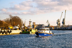 Navio hidrográfico Foto de Stock