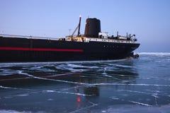 Navio histórico em Cleveland Imagens de Stock Royalty Free