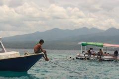 Navio-homem Fotografia de Stock Royalty Free