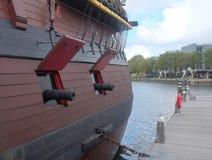 Navio marítimo do museu, Amsterdão Fotografia de Stock Royalty Free