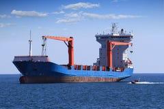 Navio mercante Imagem de Stock Royalty Free