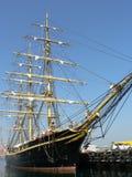 Navio na porta - Copenhaga Fotografia de Stock Royalty Free