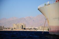 Navio no mar Imagens de Stock