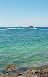 Navio no oceano, Key West Fotos de Stock Royalty Free