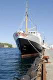 Navio no porto Imagens de Stock Royalty Free