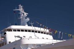 Navio no porto de Kiel Fotos de Stock