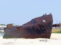 Navio oxidado velho Foto de Stock