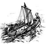 Navio velho Fotografia de Stock
