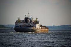 Navio velho do rio Imagens de Stock