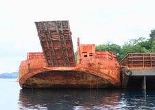Navio velho do transporte Fotos de Stock