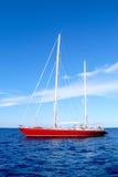 Navio vermelho Fotos de Stock Royalty Free
