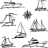 Navios ilustração do vetor