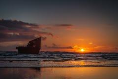 Navios ahoy Imagens de Stock Royalty Free