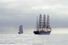 Navios altos fotografia de stock