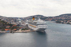 Navios de cruzeiros Imagens de Stock Royalty Free