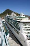 Navios de cruzeiros Fotografia de Stock Royalty Free