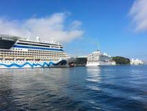 Navios de cruzeiros em Stavanger Foto de Stock