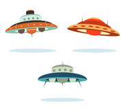 Navios de espaço Foto de Stock