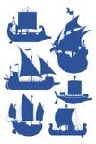 Navios de navigação Foto de Stock
