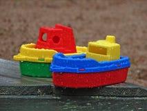 Navios do brinquedo Imagem de Stock Royalty Free
