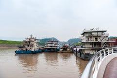 Navios do chinês Fotos de Stock