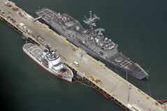 Navios em San Diego Fotos de Stock