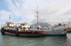 Navios no desarmamento Fotos de Stock