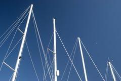 Navios no porto Fotos de Stock Royalty Free
