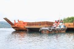 Navios velhos do transporte Imagens de Stock